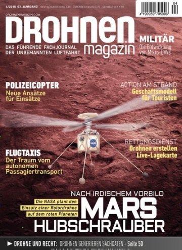 Der neueste Titel der Drohnen Fachzeitschrift: Drohnenmagazin