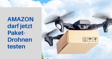Amazon darf jetzt Drohne testen