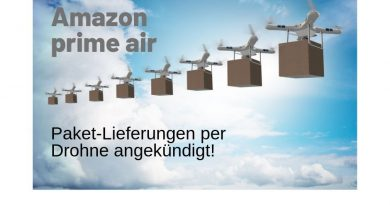 Amazon Paketdrone Prime Air