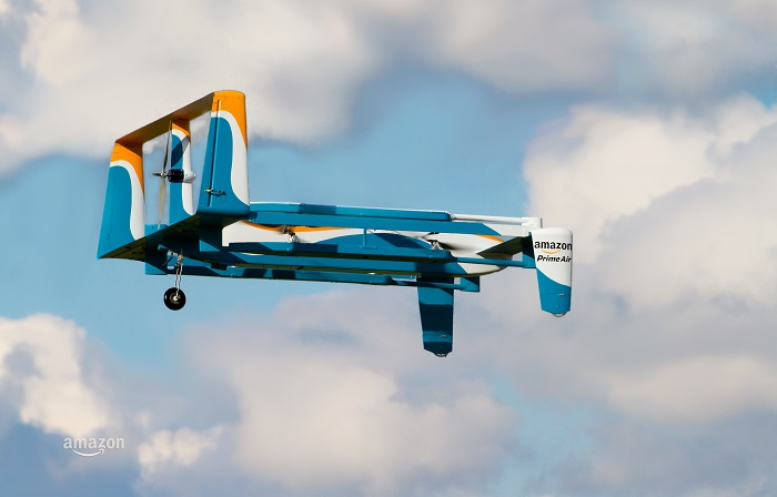 Amazon Prime Air Hybrid Drohne