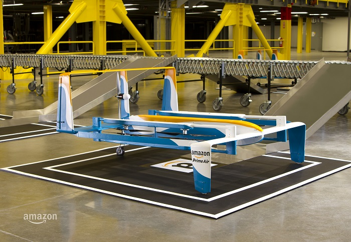 Amazons neue Hybrid-Drohne (Foto: Amazon)