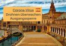 Drohnen überwachen Ausgangssperre in Spanien