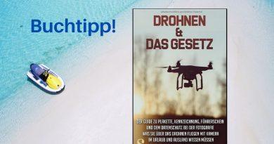 Was Sie über den Drohnenflug mit Kamera im Urlaub und im Ausland wissen müssen!