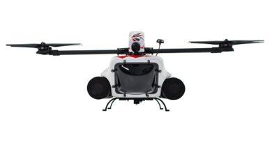 QuadH2O mit neuer Drohne SARAH2O als Such- und Rettungsassistent