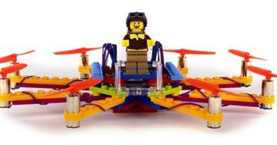 Drohne aus Legosteinen (Foto: Flybrix)