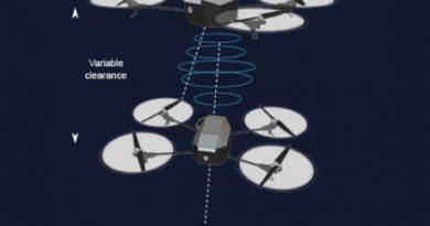 Zukunftsvision: Drohne lädt Drohne auf (Foto: Imperial College London)