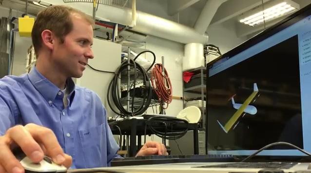 Drohnen am Computer mit der kostenlosen Software MachUp3 designen (Foto: Utah State University)