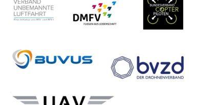 Drohnenverbände im Überblick (Quelle: Drohnen-Journal.de)