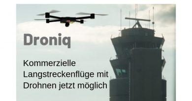 Telekom und Deutsche Flugsicherung gründen Unternehmen Droniq