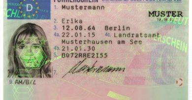 Führerschein (Foto: Bundesrepublik Deutschland)