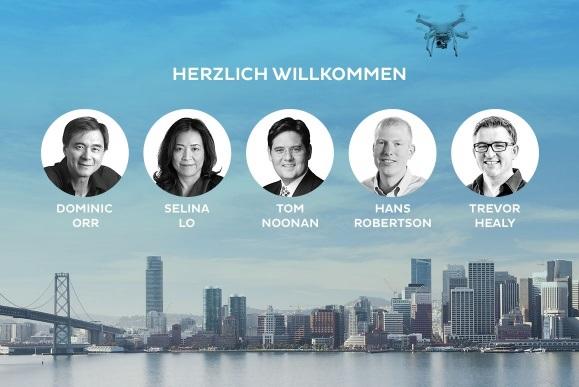 Fünf der erfolgreichsten Silicon-Valley-CEOs investieren in Dedrone (Bild: Dedrone)