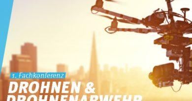Erste Fachkonferenz zum Thema Drohnen und Drohnenabwehr