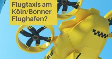 Flugtaxi – Standort am Airport Köln/Bonn könnte Verkehrs-Situation entlasten
