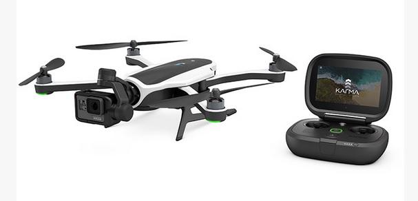 GoPro Drohne Karma mit Kamera HERO5 Black (Foto: GoPro)