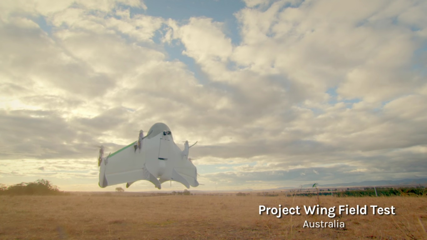 Project Wing: Google testet Lieferdrohnen