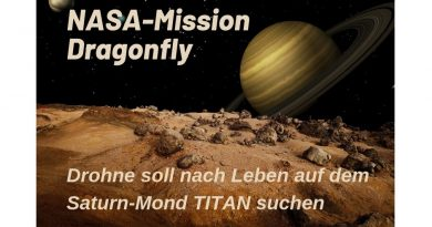"NASA-Mission ""Dragonfly"" soll fremde Welt erkunden"