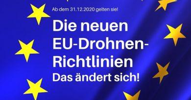 Neue EU-Drohnenrichtlinien