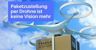 Paketzustellung per Drohne