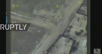 Ruptly - Drohne überträgt Livestrem der Waffenruhe über Aleppo