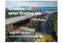 Drohne unterstützt Autobahnbau bei Straßen.NRW