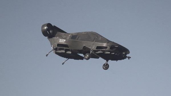 Der Cormorant erinnert stark an das Luftgefährt AT-99 Scorpion aus dem Film Avatar (Foto: Urban Aeronautics)