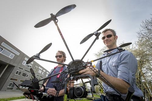 Das Team bereitet sich nun intensiv auf das Finale mit Livetests der Drohnensysteme am 27. und 28. August in den USA vor. © Lunghammer - TU Graz