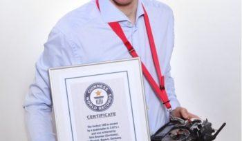 Weltrekord-Drohne von Dirk Brunner - Foto Dirk Brunner