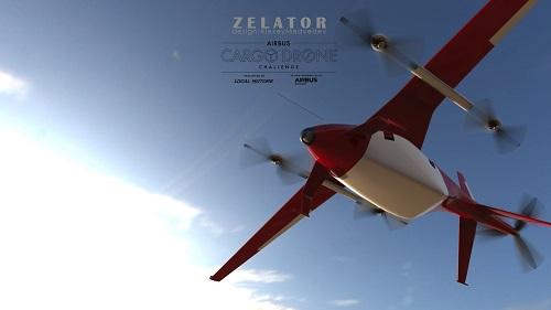 Airbus Cargo Drone Challenge Zelator