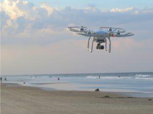 Drohnen unterstützen Rettungsschwimmer bei Ihren Einsätzen
