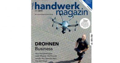 Drohnen – die digitalen Werkzeuge des Handwerks