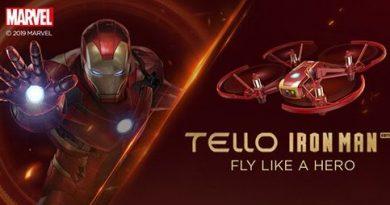 Eintauchen in die Welt der Avengers mit der IRON-Man Mini-Drohne
