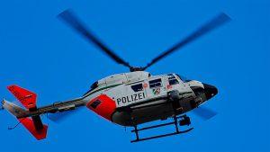 Drohnen im Polizeieinsatz - hier könnten erhebliche Kosten gegenüber einem Polizei-Hubschrauber-Einsatz eingespart werden.