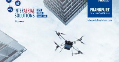 Die EUROPEAN DRONE SUMMIT findet vom 16.-18.10.2018 in Frankfurt statt.