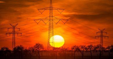 Drohnen kontrollieren Stromleitungen